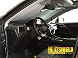 Sunshade for 2016 2017 Lexus RX350 RX450h w Windshield-Mounted Sensor Custom-fit Sunshade #1606