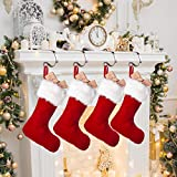 Christmas Stocking Holders for Mantle,4 Pack