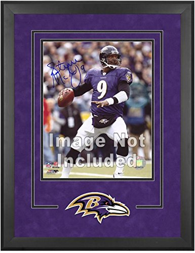 Baltimore Ravens Deluxe 16x20 Vertical Photograph Frame by Mounted Memories
