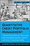 img - for Quantitative Credit Portfolio Management: Practical Innovations for Measuring and Controlling Liquidity, Spread, and Issuer Concentration Risk book / textbook / text book