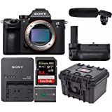 Sony a7RIII Full-frame Mirrorless Interchangeable Lens Camera w/ Tascam DR-10SG