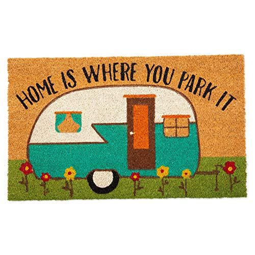 DII CAMZ11127 Seasonal Doormats, 18x30, Camper (Camper Mat For Door)
