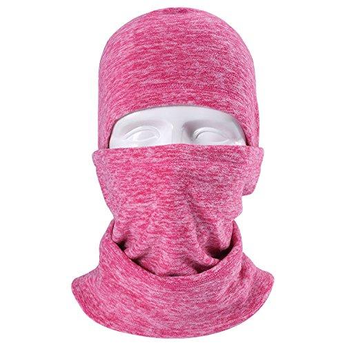 JIUSY Multifunctional Fleece Hood Balaclava Windproof Neck W