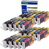 ink4work Set of 20 Pack PGI-250XL &