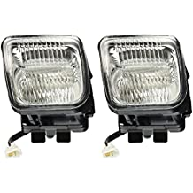 Spec-D Tuning LF-CV96COEM Honda Civic Ex Dx Lx Clear Oem Style Fog Lights, Switch, Relay