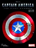 Captain America the First Avenger Auction : Profiles in History and Marvel Studios, Profiles in History, 0615606725