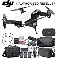 DJI Mavic Air Drone Quad copter FLY MORE COMBO (Arctic White) Travel Bundle