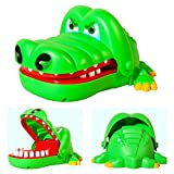 DierCosy Kids Crocodile Biting Finger Game Funny Toys For Children Kid adult, Cute Gifts Crocodile Mouth Dentist Toy Green BabyProducts