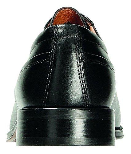 Extra Schnürschuh Leder Schwarz Gr 48 41 Schwarz aus in Business Weit NESTOR Herren bis qw01xCq6