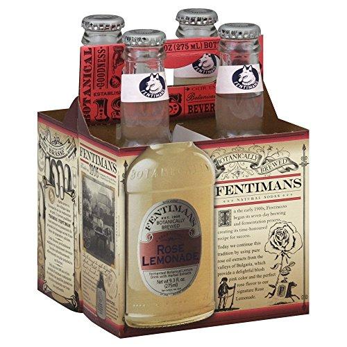 Fentimans Rose Lemonade, 4Pack 37.2 FL (Pack of 12) by Fentimans