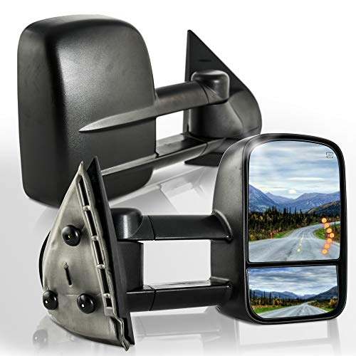 Make Auto Parts Manufacturing Passenger Side Heated Manual Folding w/o Puddle Light Power Door Mirror For Chevrolet Avalanche 2007-2013 / GMC Sierra 1500 2007-2013 - GM1321354