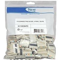 110 Connecting Block- 100 Pk 4-Pair