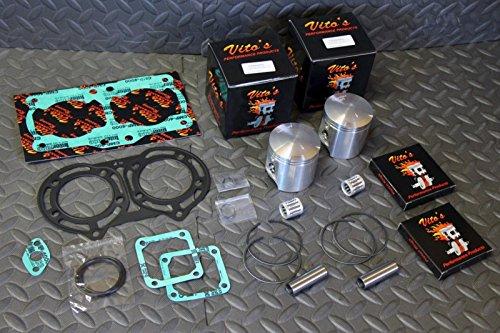 (Vito's Performance SUPER STOCK Banshee pistons & gasket kit 8hp over stock 64.50 )