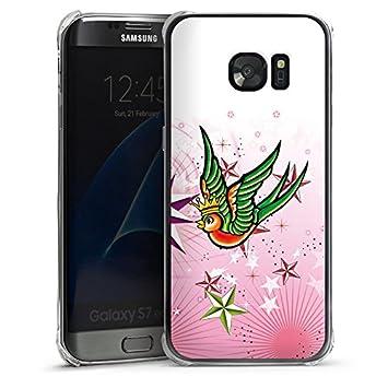 Carcasa Samsung Galaxy S2 Swallow Pájaro estrellas, plástico ...