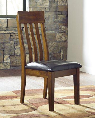 Ralerrine Medium Brown Formal Dining Upholstered Side Chair, Set of 2