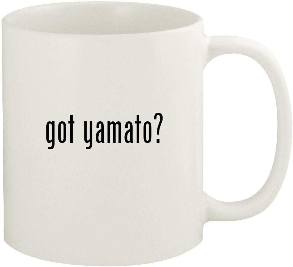got yamato? - 11oz Ceramic White Coffee Mug Cup, White