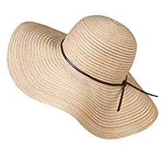 Foldable Cotton Beach Hat For Women Floppy Big Brim Summer Sun Caps 5 Colors offered:beige, black, grey,kakhi,navy; Pack: 1 pcs beach hat Materials:  Bucket hat fabric:100% cotton  Suitable for women and girls Features: 1.The beach hat is mad...