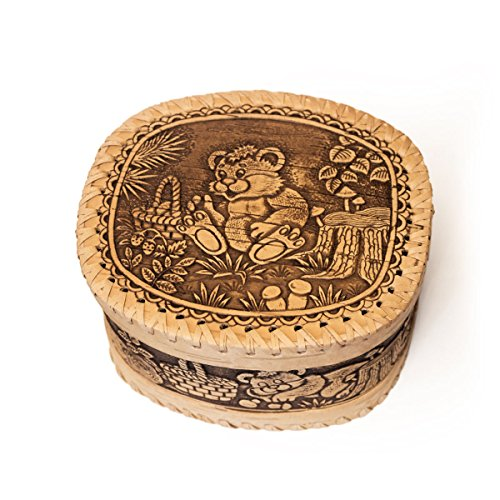 Eco Hoticold Decorative box bear, Jewelry Gift Box for Gifts and house decoration