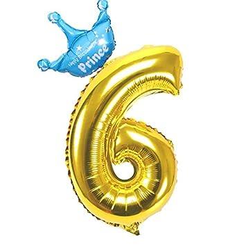 Amazon.com: yalulu 2pcs Boy Happy de cumpleaños corona ...
