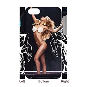Customized Case Lady Gaga Diy Iphone 4/4s hard Case UN072796