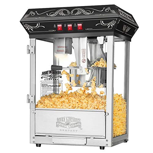 5800 Great Northern Popcorn Black Good Time Popcorn Popper M