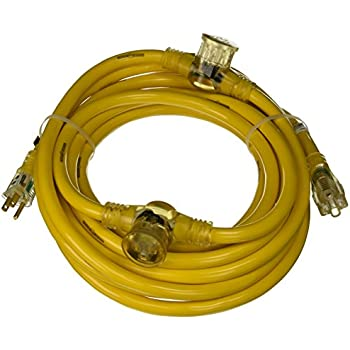 10 10/' Conntek PNG-2105A Multi Outlet Extention Cord 10 5/' 5 10/'