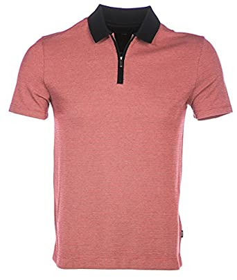 BOSS Hugo Polo Shirt POLSTON 02 in Red: Amazon.es: Ropa y accesorios