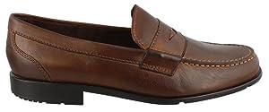 Rockport Men's Classic Lite Penny Loafer,Dark Brown,13 M (D)