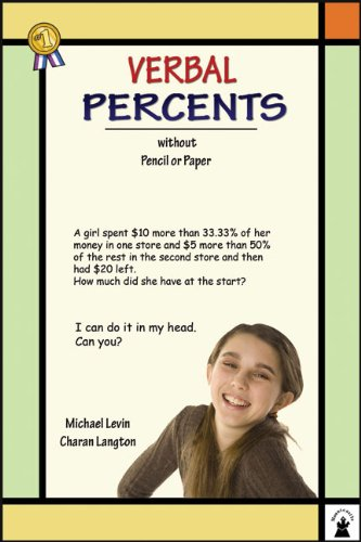 Verbal Percents: Without Pencil or Paper (Verbal Math Lesson)