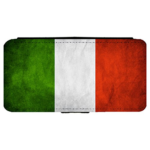 Italy Italian Flag Apple iPhone 6 Plus / 6S Plus (5.5 inch) Leather Flip Phone Case (Italian Flag Iphone 6 Plus compare prices)