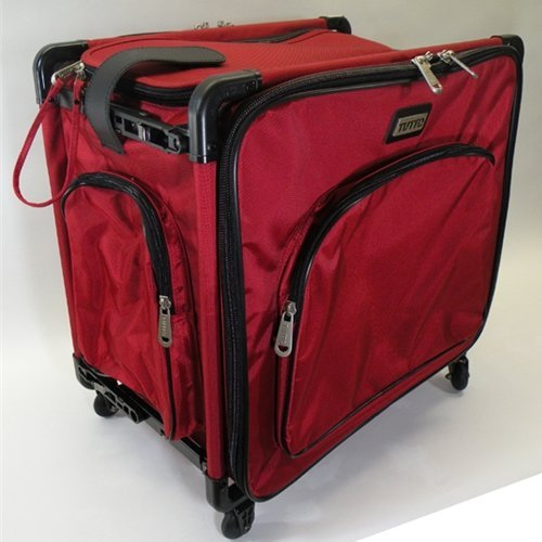 "Tutto 20"" Red Serger Tote On Wheels"