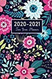 2020-2021 Monthly Planner: Flower Watecolor Cover | A Simple 2 Year Monthly Pocket Calendar 2020-2021 | 24 Months Agenda Planner with Holiday | ... Planner, 24 Months Jan 2020 to Dec