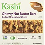 Kashi Salted Chocolate Chunk Chewy Granola Nut Butter Bars, 6.15 Ounce