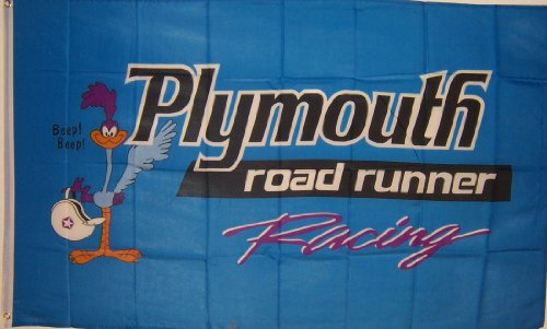 new-3ftx5ft-blue-plymouth-road-runner-banner-flag-sign