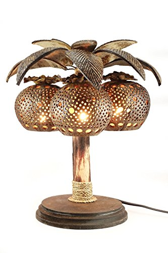 Tropical Leaf Table Lamp - 6