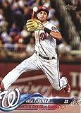 2018 Topps #44 Trea Turner Washington Nationals Baseball Card