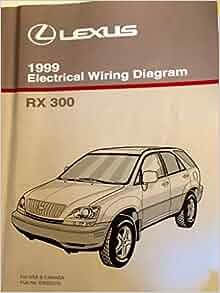 1999 lexus rx 300 electrical wiring diagram (mcu10, 15 series): toyota motor  corporation: amazon com: books