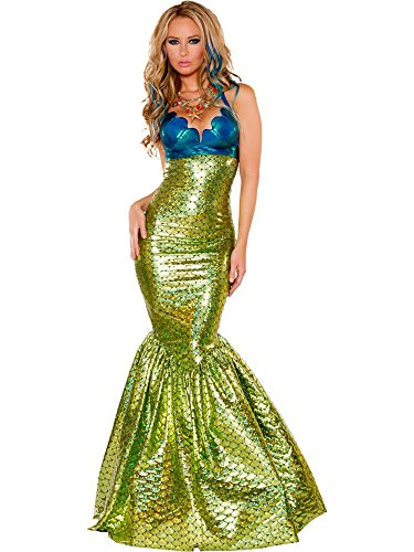 Women Sexy Sirena the Mermaid Costume (Complete) By