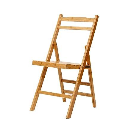 Gxdhome Klappstuhl Leichter Bambus Lounge Sessel Geeignetes Buro