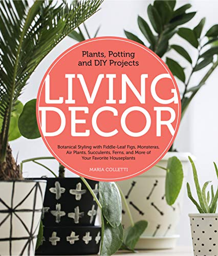 - Living Decor: Plants, Potting and DIY Projects - Botanical Styling with Fiddle-Leaf Figs, Monsteras, Air Plants, Succulents, Ferns, and More of Your Favorite Houseplants