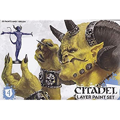 Citadel Layer Paint Set by Games Workshop: Toys & Games