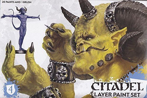 Citadel Layer Paint Set by Games Workshop