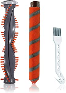 SELECTOP Shark Replacement Brush Roll Kit Compatible with Shark DuoClean NV800,NV800W,NV801,NV801Q,NV803,UV810,HV380,HV381,HV382,HV384 Vacuum Cleaner