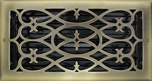 6x12 brass registers - 6