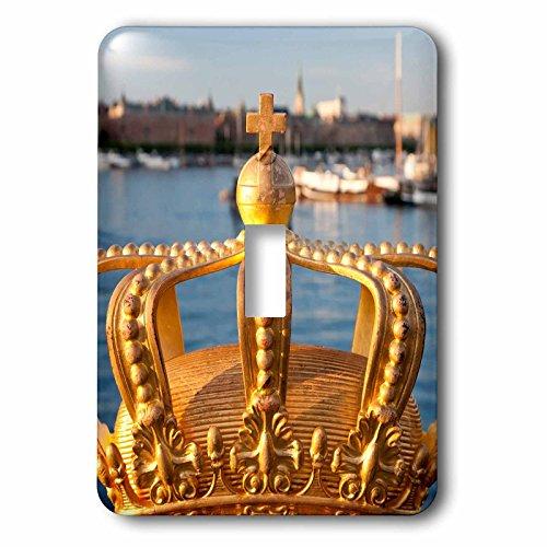 (Danita Delimont - Objects - Swedish Royal crown on Skeppsholmen Bridge in Stockholm, Sweden - Light Switch Covers - single toggle switch (lsp_227948_1))