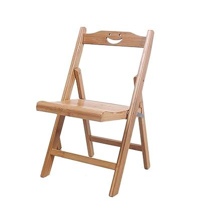 Silla Plegable Silla Plegable de bambú del Taburete de la ...
