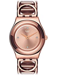 Swatch Women's Irony YLG126G Stainless Steel Wrist Watches