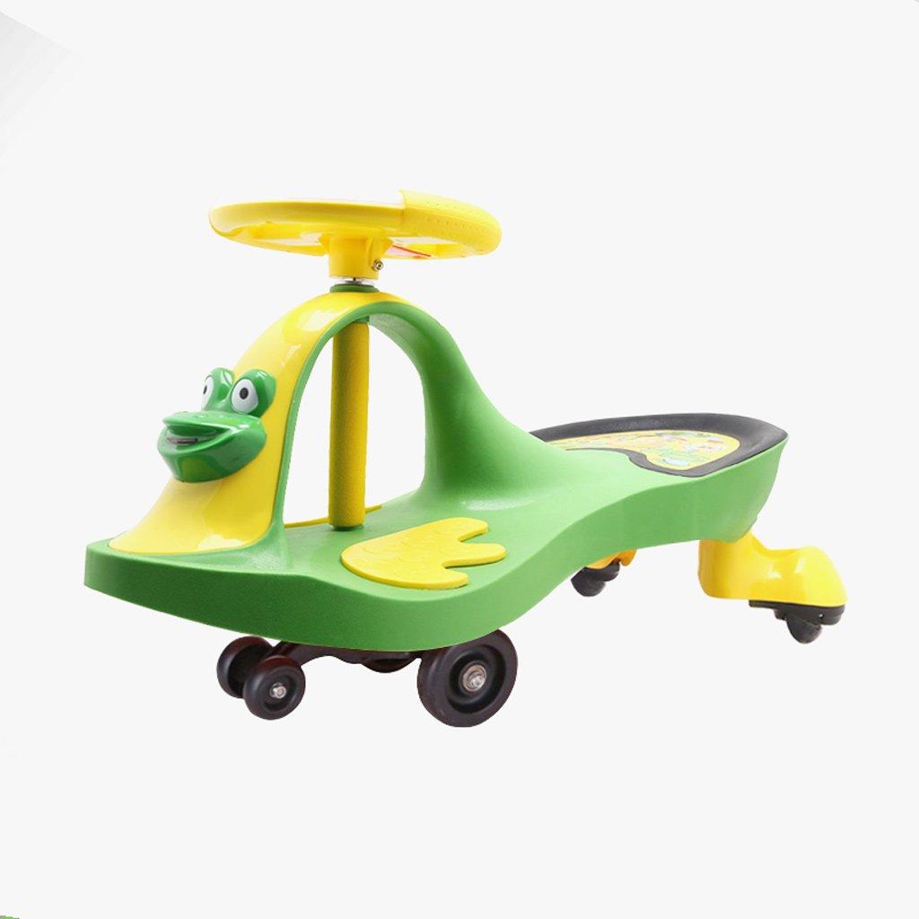 Fahrt auf Spielzeug, Fahrt auf Wiggle Auto von - Fahrt auf Spielzeug für Jungen und Mädchen, 1 Jahr alt und oben (Farbe   Blau) Grün