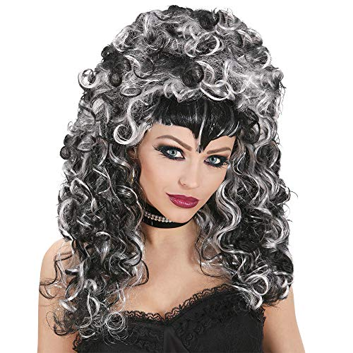 Halooween Morticia Evilicious In Box Wig For Fancy Dress Costumes & -