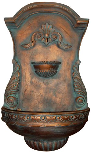Ladybug Classic Shell Fountain, Copper